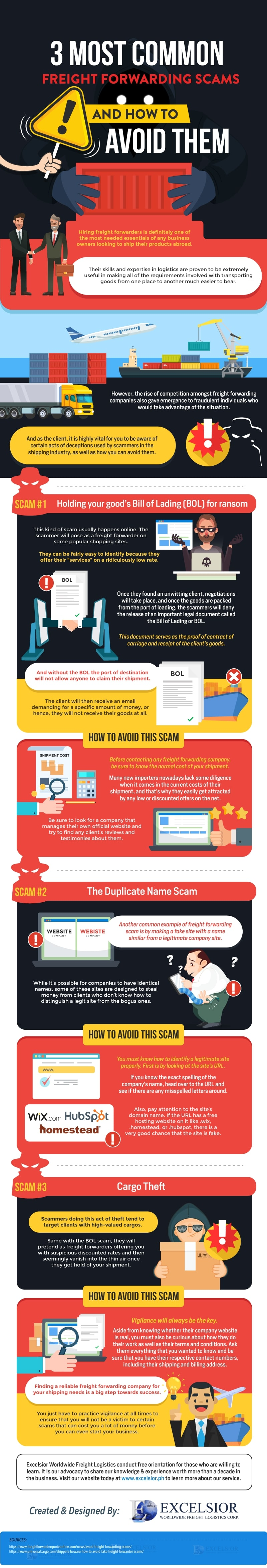 3 Most Common Freight Forwarding Scams And How To Avoid Them