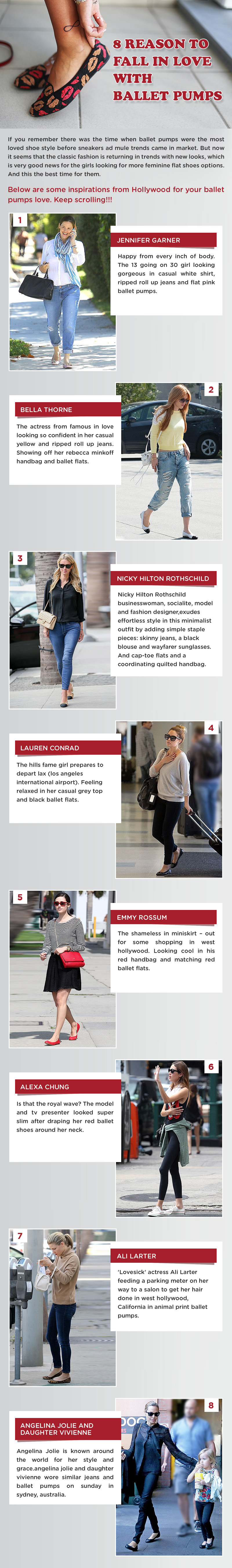 8 Reasons To Fall In Love With Ballet Pumps [Infographic]