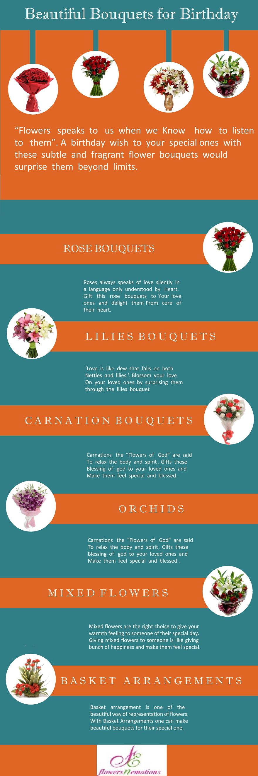 Beautiful Bouquets [Infographic]