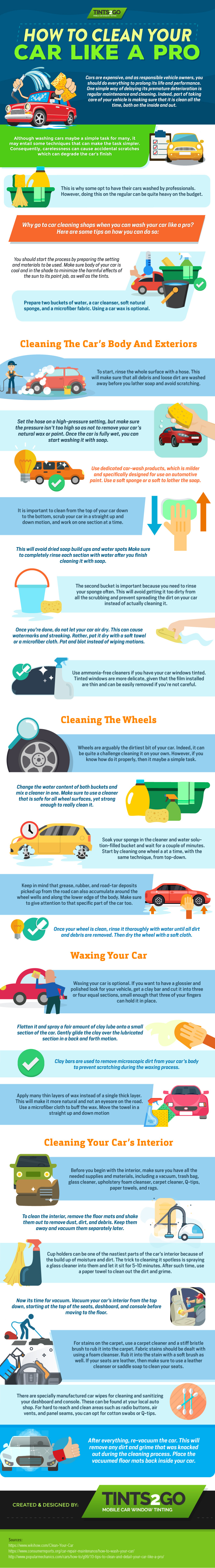 How to Clean Your Car Like a Pro [Infographic]