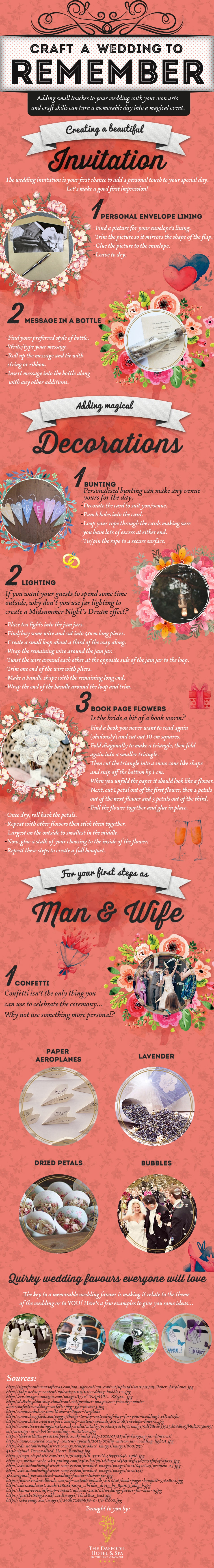 Craft A Wedding To Remember [Infographic]
