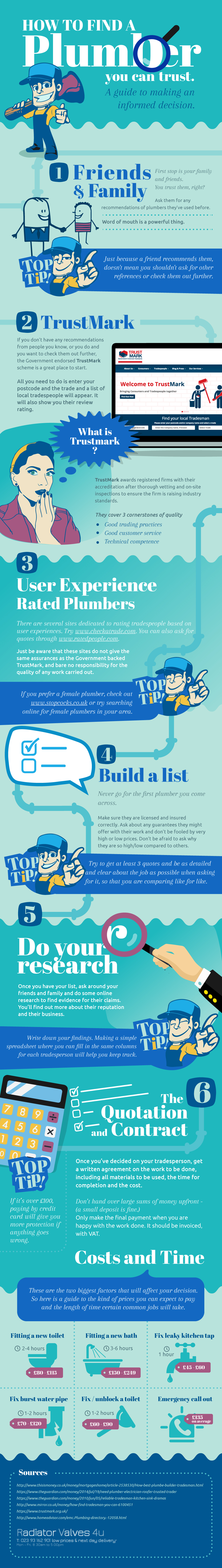 How To Find A Plumber You Can Trust [Infographic]