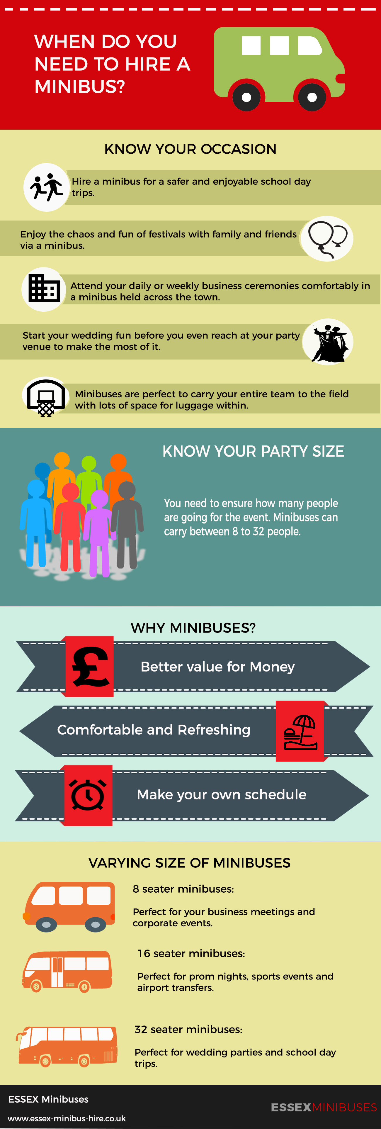 Hiring A Minibus [Infographic]