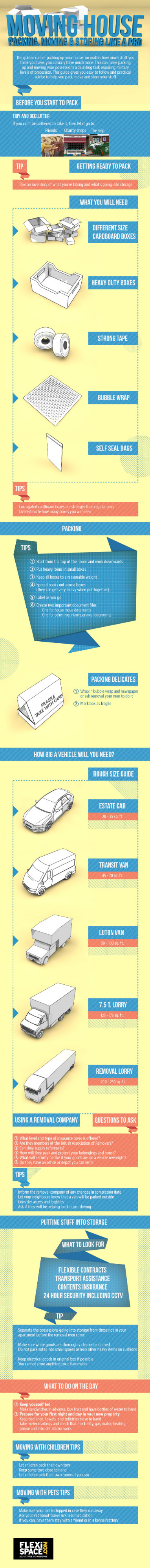 Moving Like A Pro [Infographic]