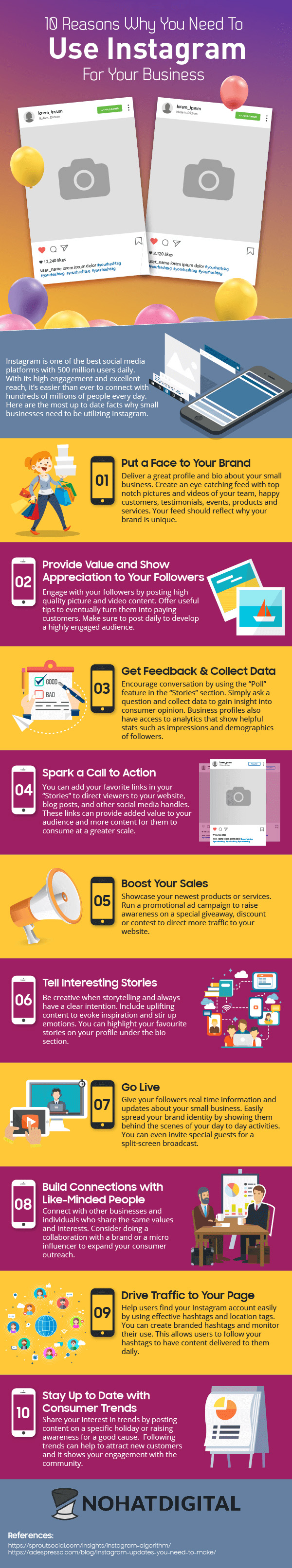 Why You Need To Use Instagram For Your Business [Infographic]