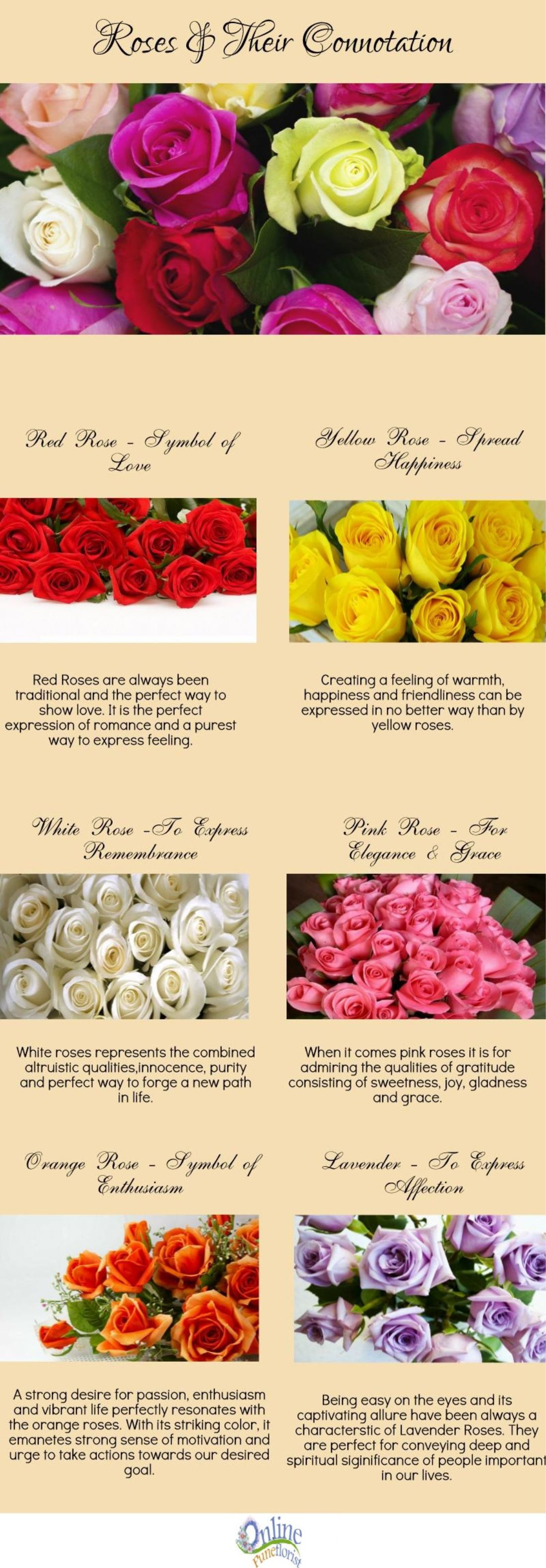 Roses: The Secret of Happiness! [Infographic]