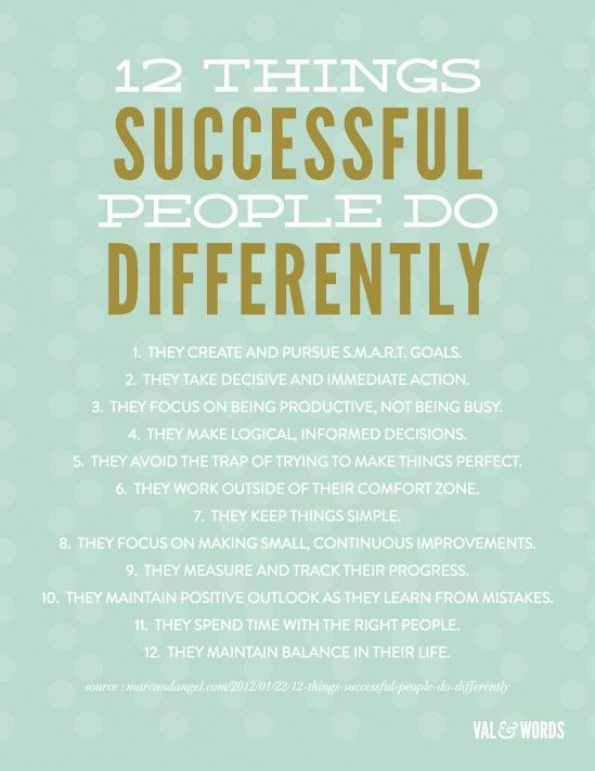 Successful People [Infographic]