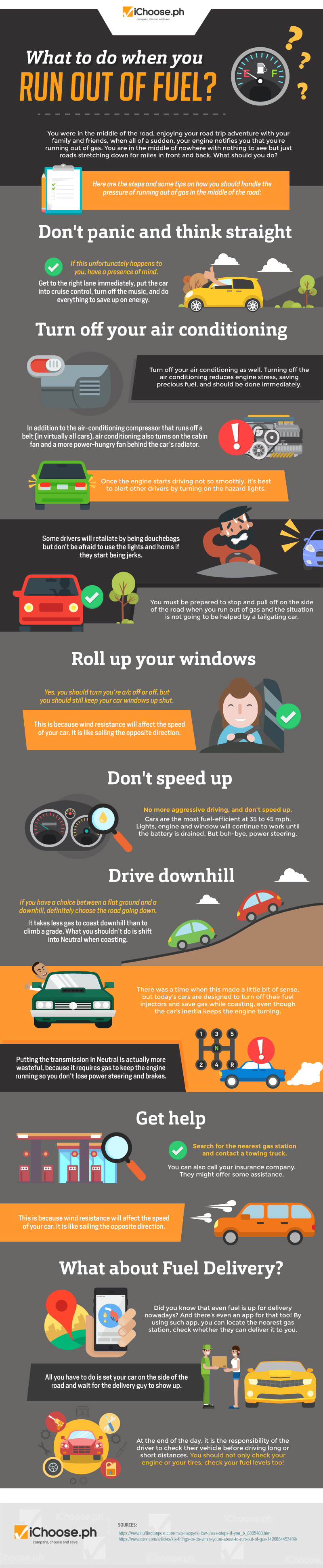 What to Do When You Run Out of Fuel? [Infographic]