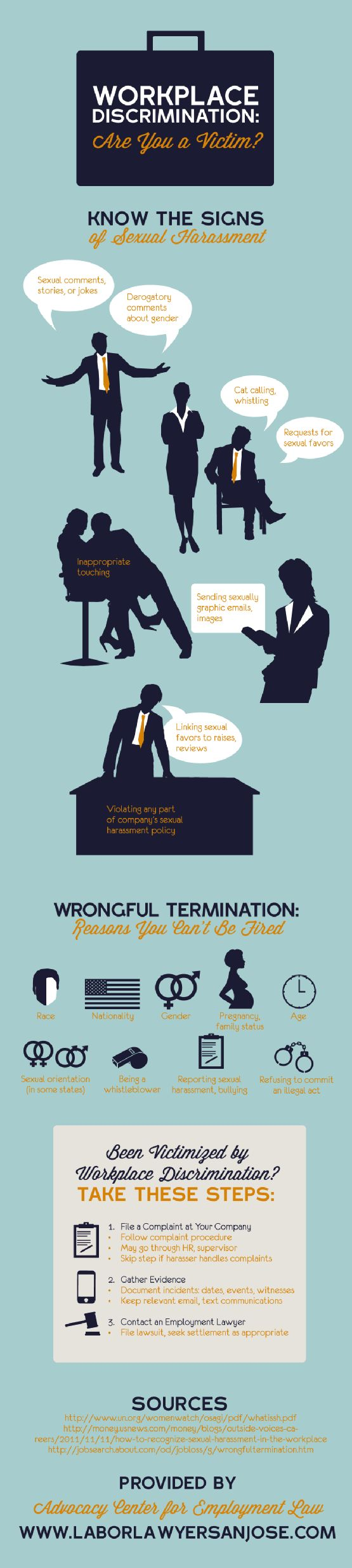 Workplace Discrimination Victim [Infographic]