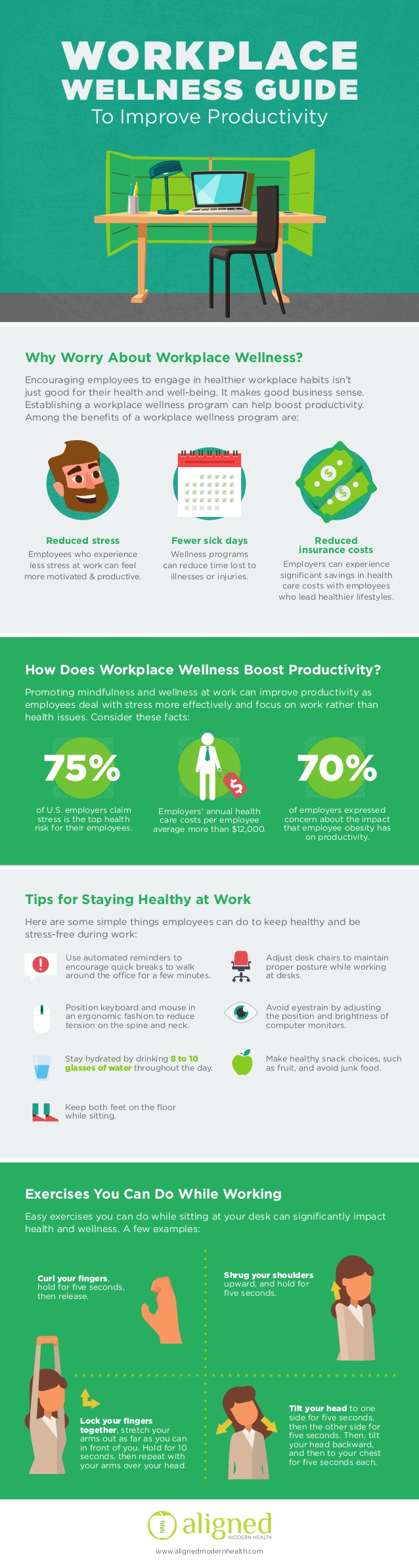 Workplace Wellness Guide To Improve Productivity [Infographic]