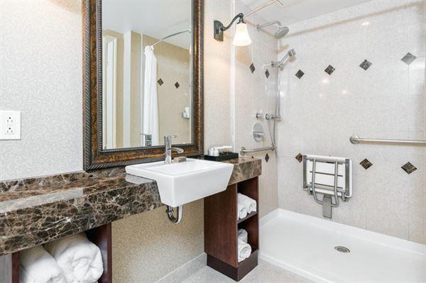 Traditional Accessible Bathroom