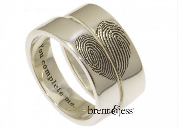 brent & jess - You Complete Me Wedding Set