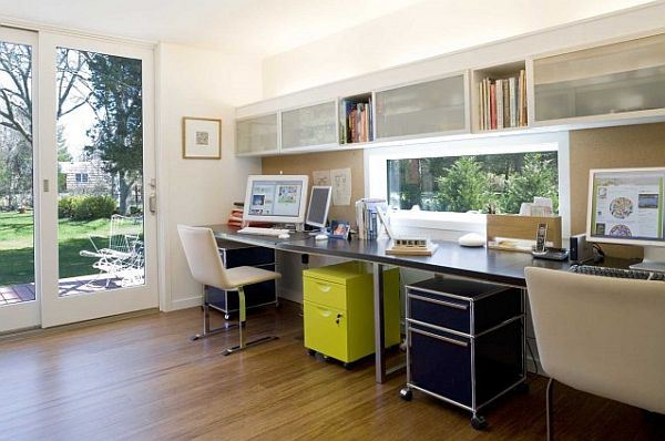 Modern Home Office With Contemporary Furniture