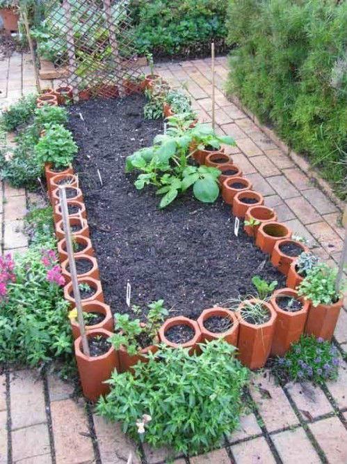 9 Terra Cotta Garden Space