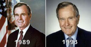 George H W Bush Sr