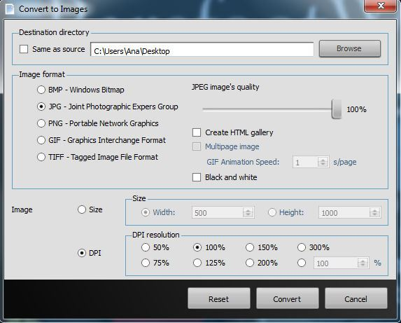 Able2Extract Convert to Images
