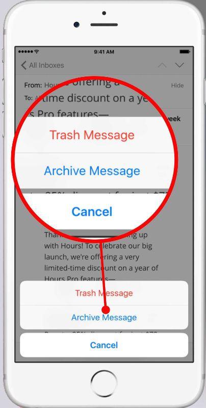 Archive Message