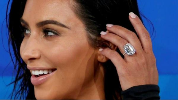 Kim Kardashian 20 Carat Ring