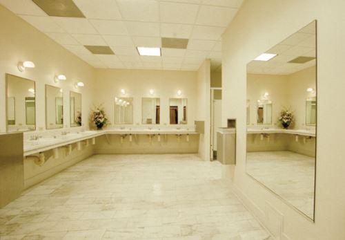 Clean Public Restroom