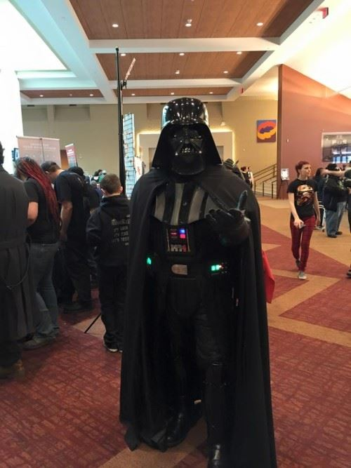 My First Comic Con: Darth Vader