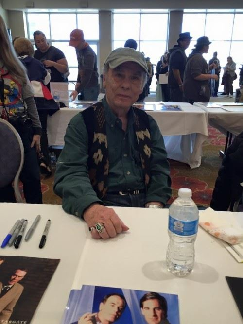 My First Comic Con: Dean Stockwell Quantum Leap