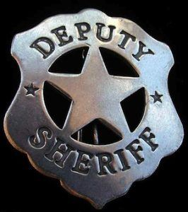 Top 10 Confession Highlights of 2013: Deputy Sheriff Badge