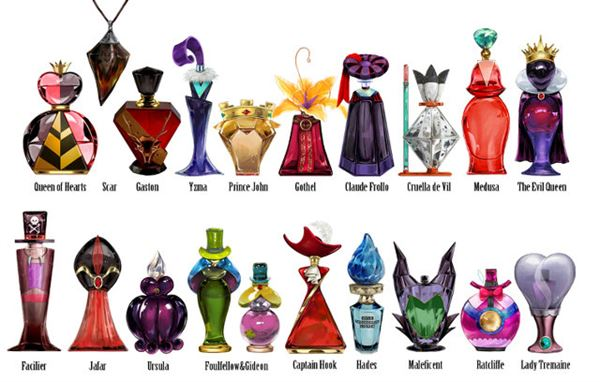 Disney Villain Perfume Bottles