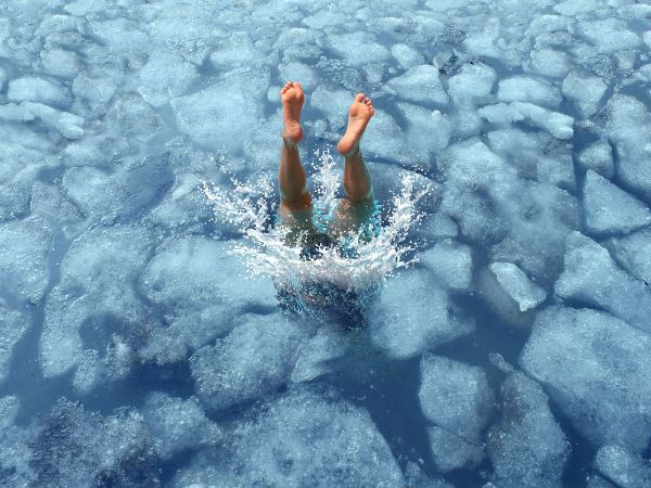 Diving Into Ice