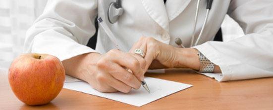 Doctor Writing Drug Prescription