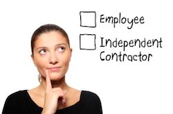 Employee Independent Contractor