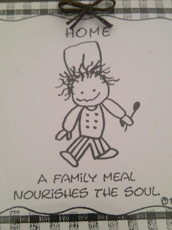 Family Meal Nourishes Soul