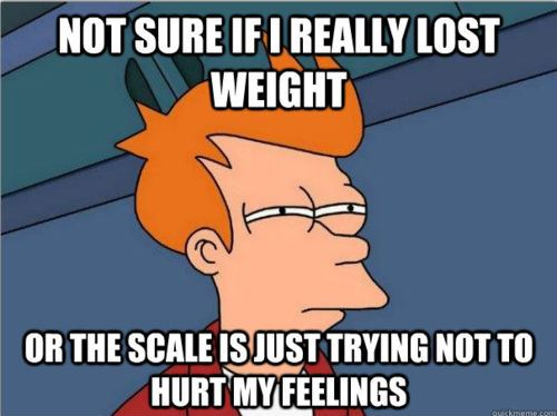 Funny Fry Weight Loss Scale