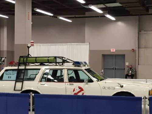 My First Comic Con: Ghost Busters Car