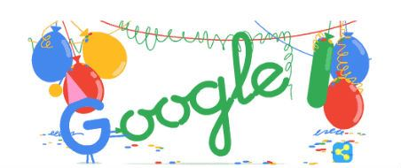 Google Birthday 18