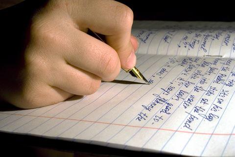 Hand Pen Notebook Write