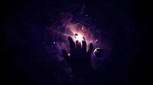 The Near Death Experience: Hand Universe Touch