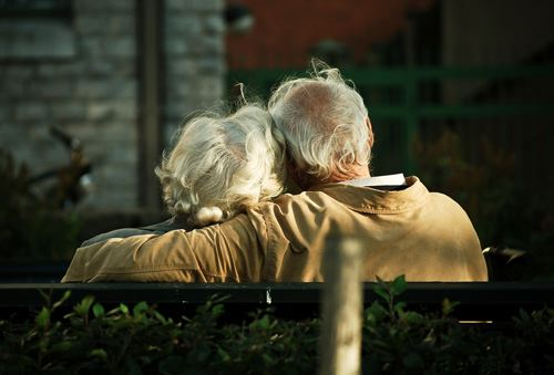 Mistakes We Make In Our Relationship: Happy Elder Couple