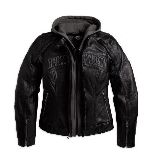 Harley Davidson Woman Jacket Front
