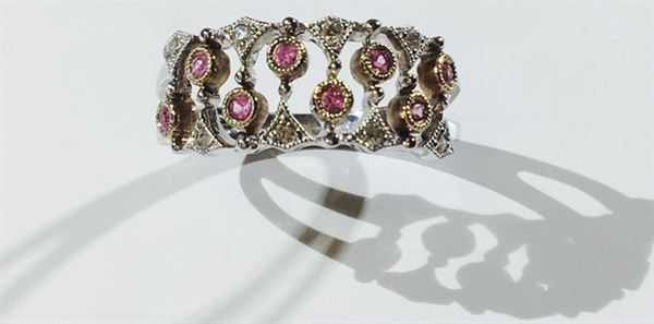 Pink Twittle Ring