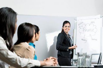 Why Women MBAs Earn Less Than Male Counterparts: Indian Woman Presentation