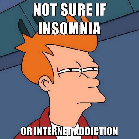 Insomnia or Internet Addiction