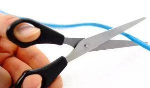 Internet Addiction Cut Cord