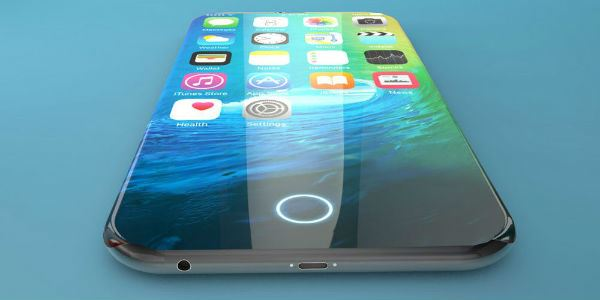 iPhone 8 Concept Embedded Fingerprint Reader
