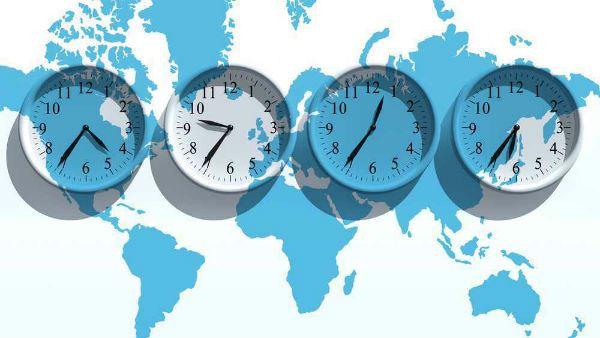 Jetlag Timezones