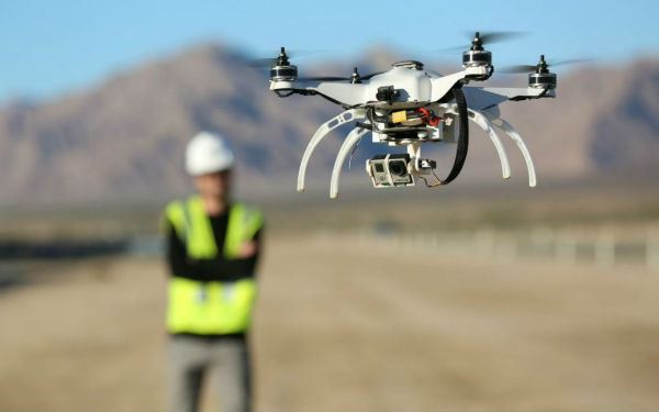 Construction Zone Drone