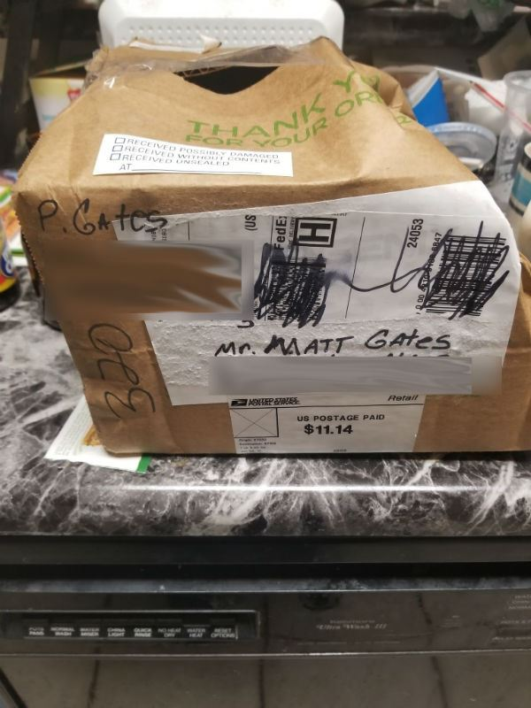 USPS Damaged Package