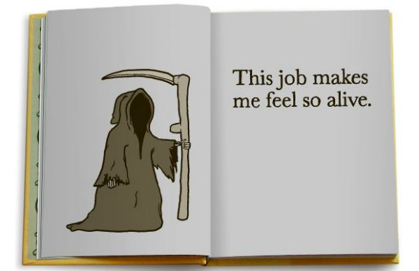Job Makes Me Feel Alive