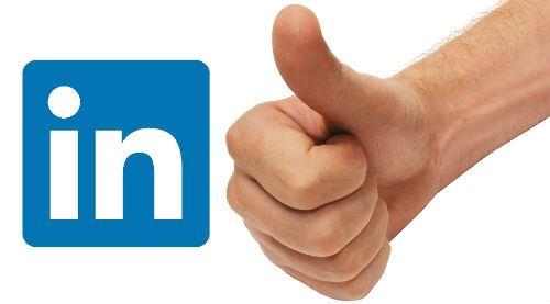 Linkedin Thumbs Up