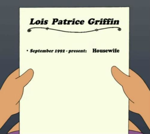 Lois Griffin Housewife