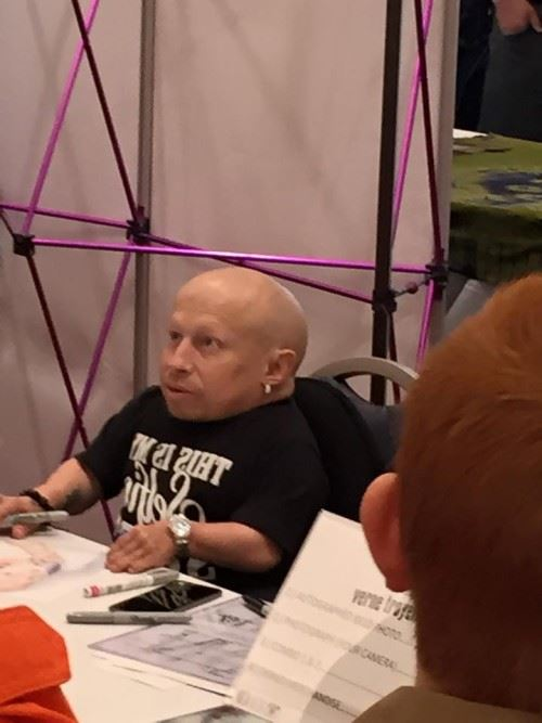 My First Comic Con: Mini Me Vernon Troyer